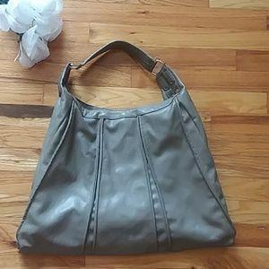 Handbags - Triangle Shaped Hobo Shoulder Bag